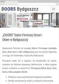 DOORS Salon Doors and Windows in Bydgoszcz