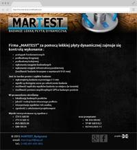MARTEST - Light dynamic plate study