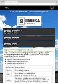 Rebeka Investment Sp. z o.o.