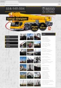 Rego - Service Kran, Autokran