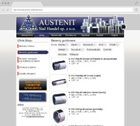 Austenit Steel Trade - Offer of stainless steel products