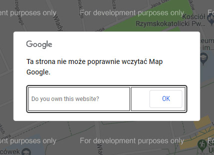This page can not load Google Maps correctly.
