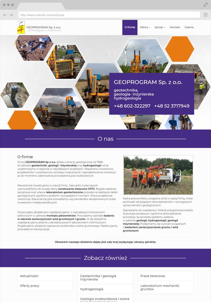 Geotechnics, engineering geology, hydrogeology.
