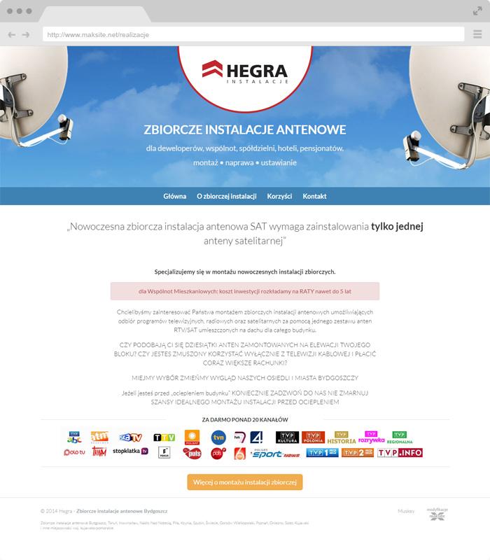 Hegra - antenna installations