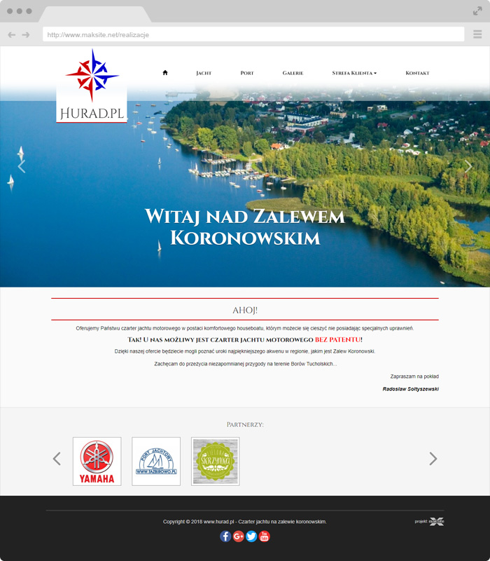 Web Sitemap Page: Responsive Website Project