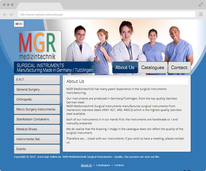 MGR Medizintechnik Surgical Instruments