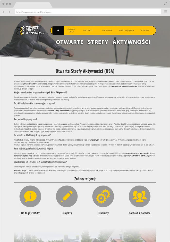 Offene Aktivitätszonen (OSA)