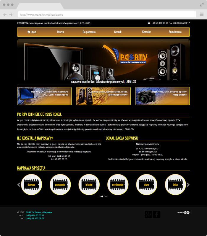 PC+RTV Service • Repair