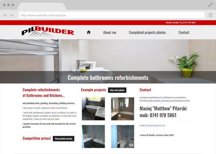 PILBUILDER.CO.UK