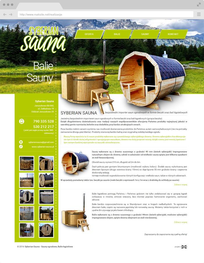 syberian sauna